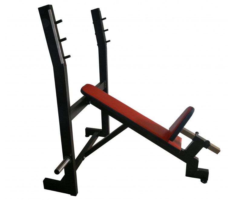 Olympic Incline Press Bench Fixed (A2)