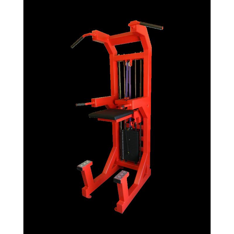 Dip, chin up assist machine (K3P)