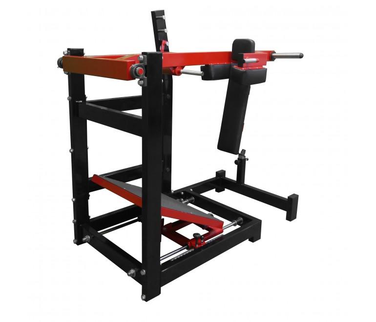 Pendulum squat machine...