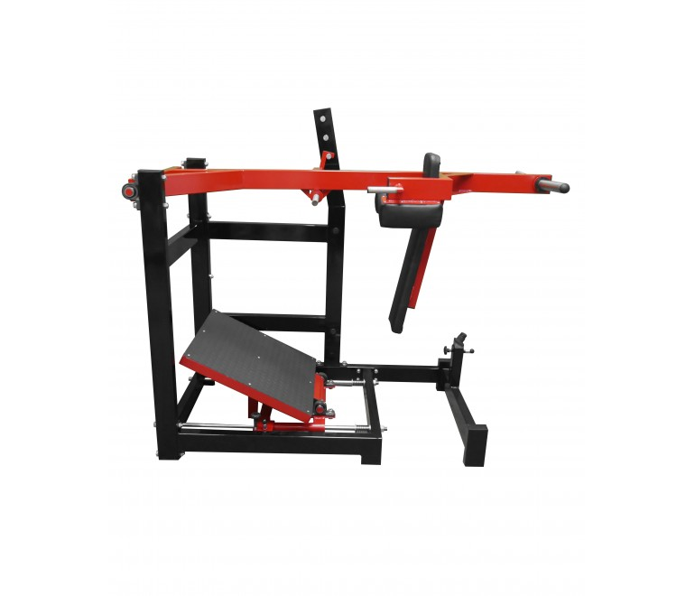 Pendulum squat machine (with adjustable foot platform) (R3X)