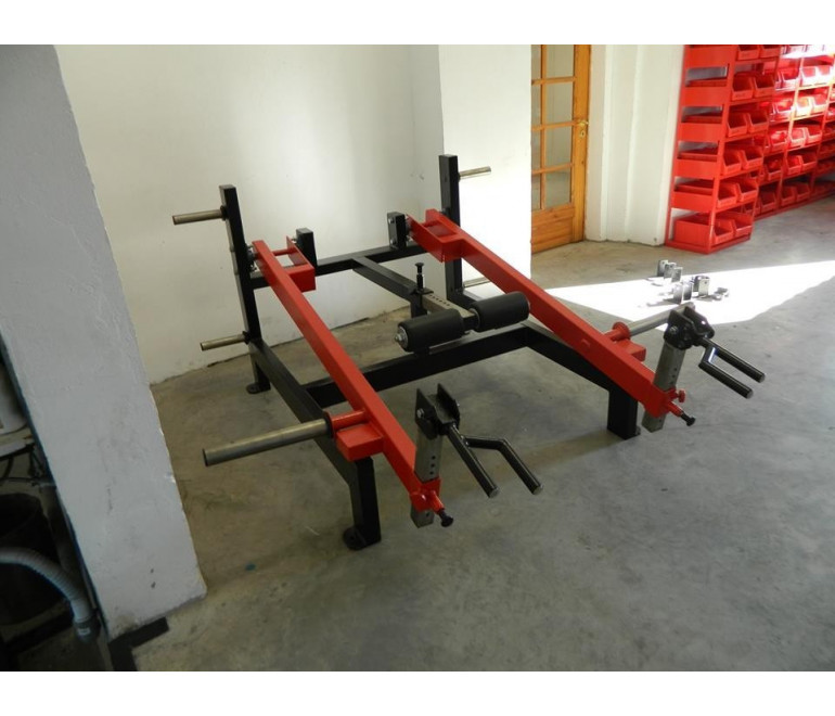 Trap Shrug/Lunge/Deadlift Machine (G1)