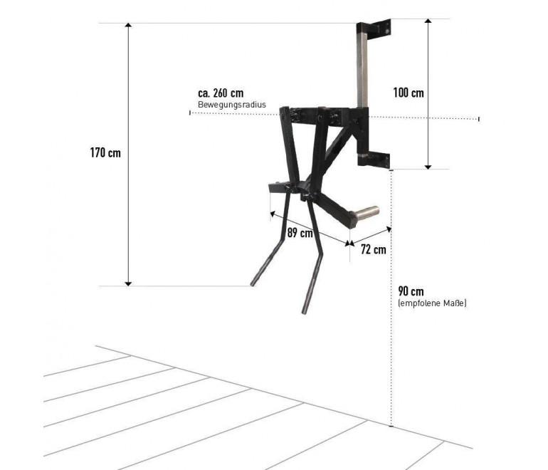 Lateral shoulder raise machine (P3)