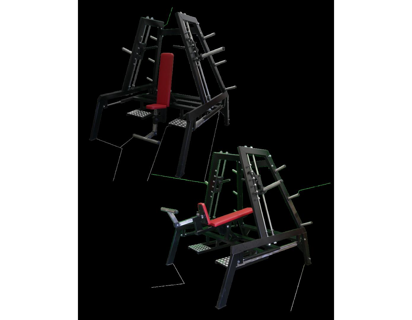 Multifunctional Machine Shoulders Chest Press (B5XX)