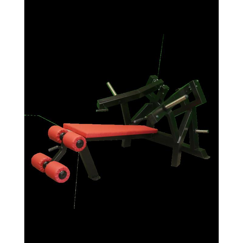 Decline Bench Press A3X